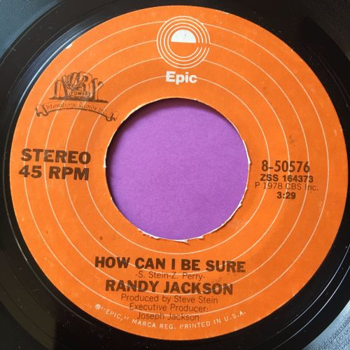 Randy Jackson-How can I be sure-Epic E+