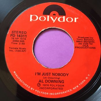 Al Downing-I'm just nobody-Polydor E+