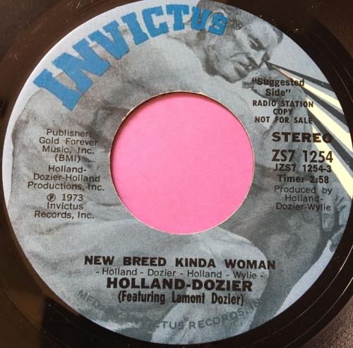 Holland Dozier-New breed kinda woman-Invictus E+