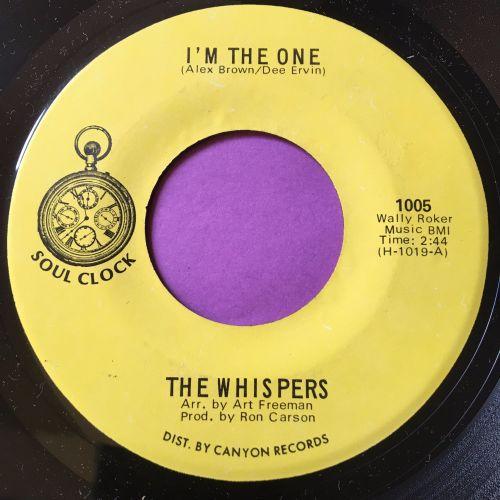 Whispers-I'm the one-Soul clock E+