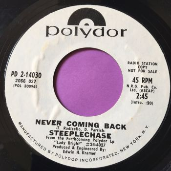 Steeplechase-Never coming back-Polydor WD E+