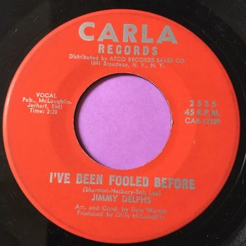 Jimmy Delphs-I've been fooled before/Almost-Carla E+