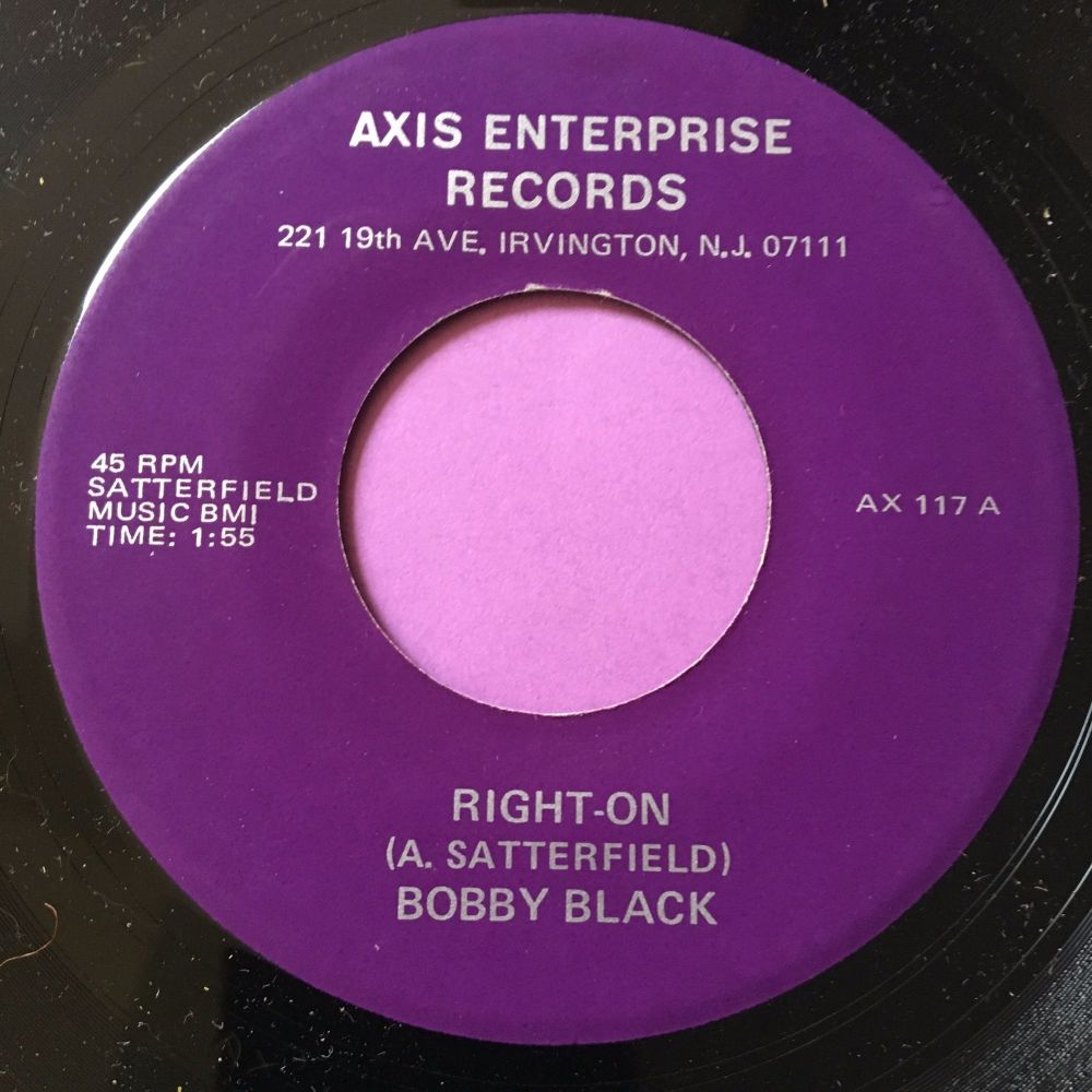 Bobby Black-Right on-Axis M-