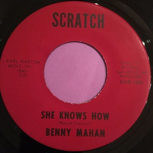 Benny Mahan-She knows how-Scratch M-