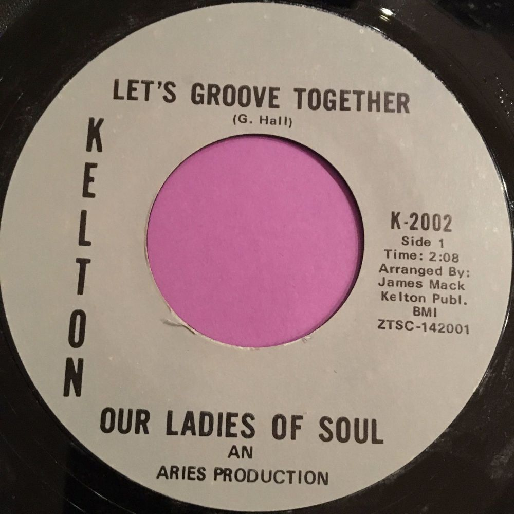 Our Ladies of Soul-Let's groove together-Kelton E+