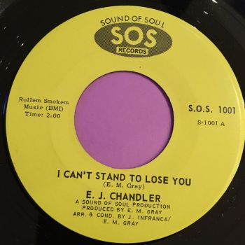 E.J Chandler-I can't stand to lose you-SOS M-