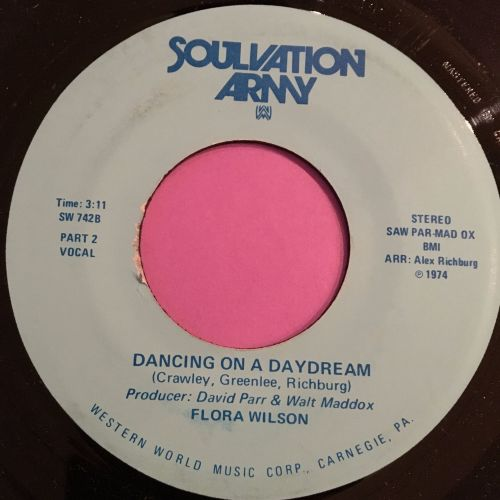 Flora Wilson-Dancing on a daydream-Soulvation army M-