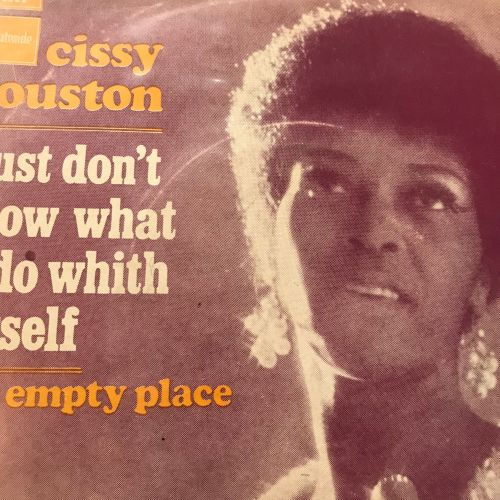 Cissy Houston-I just don't know what to do with myself-French Stateside PS