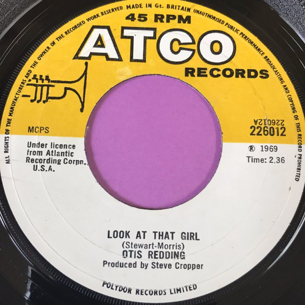 Otis Redding-Look at that girl-Atco E