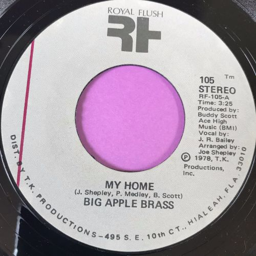 Big Apple Brass-My home-Royal flush E+