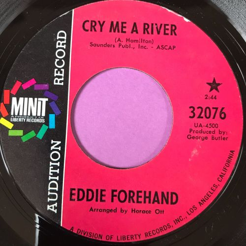 Eddie Forehand-City of blues-Minit Demo E+