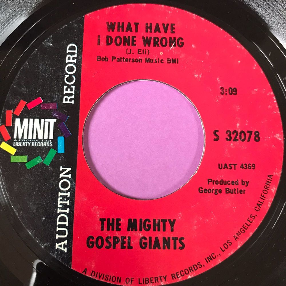Mighty Gospel Giants-What have I done wrong-Minit demo E+