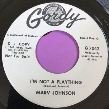 Marv Johnson-I'm not a plaything-Gordy WD E+