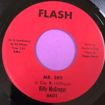 Billy McGregor-Mr Shy-Flash E+