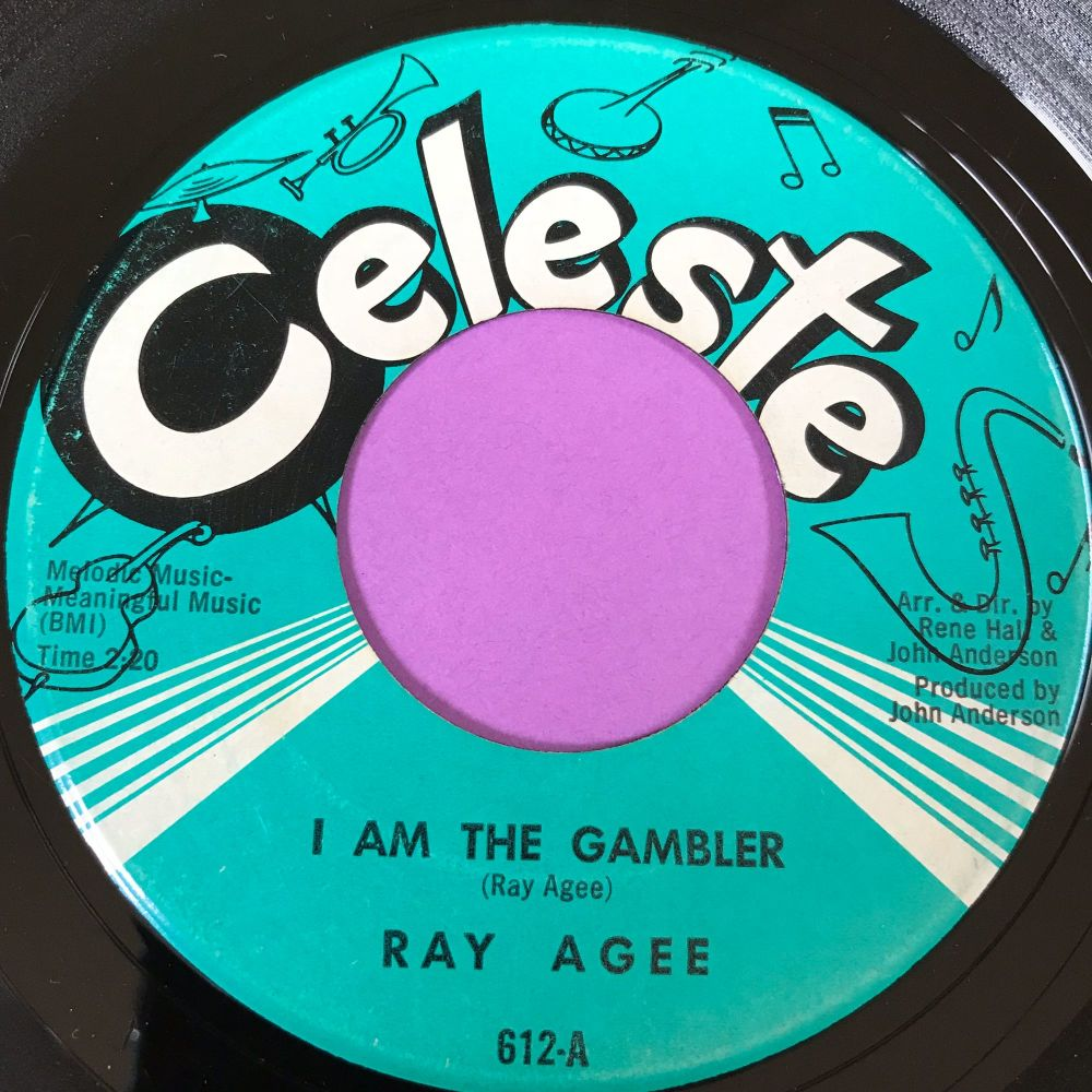 Ray Agee-I am the gambler-Celeste E+