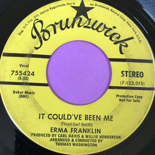 Erma Franklin-It could have been me-Brunswick vg+