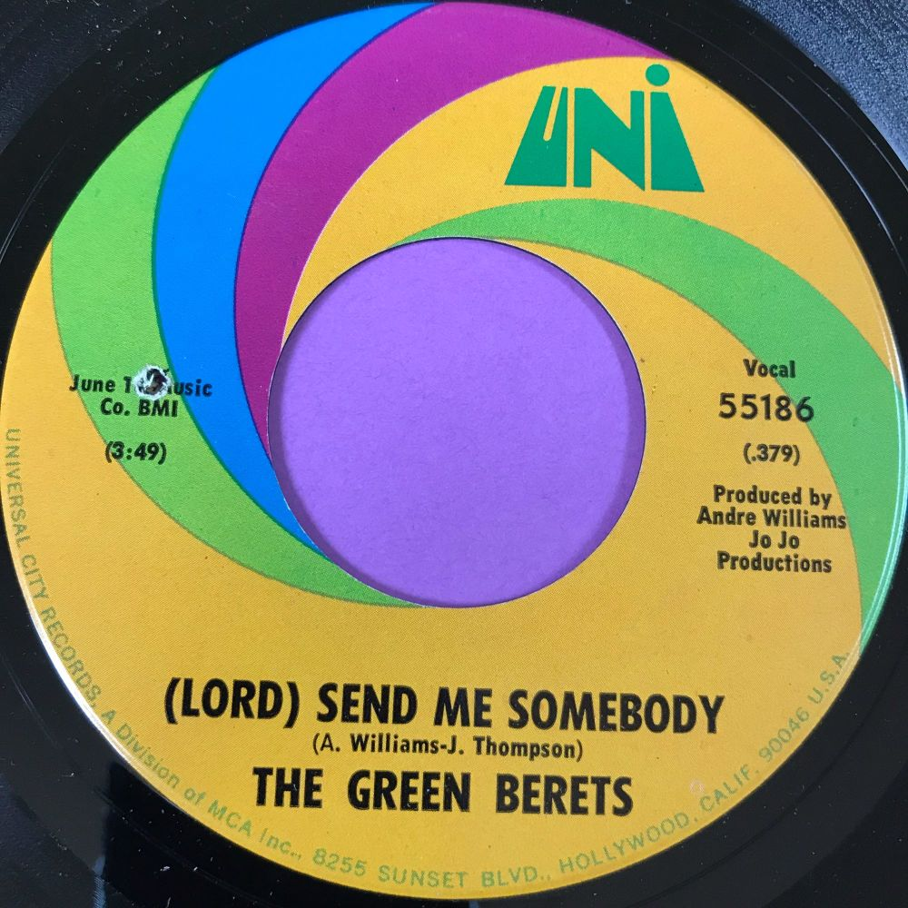 Green Berets-Lord send me somebody-Uni M-