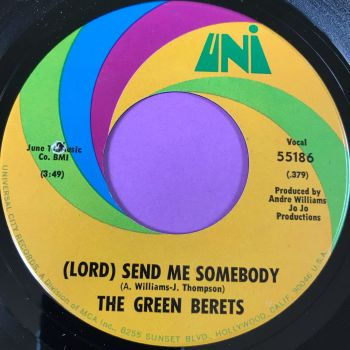 Green Berets-Lord send me somebody-Uni E+