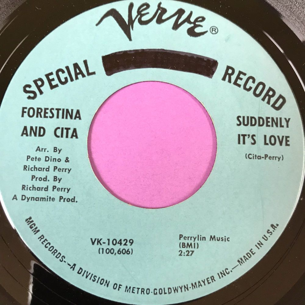 Forestina and Cita-Suddenly it's love-Verve demo E+