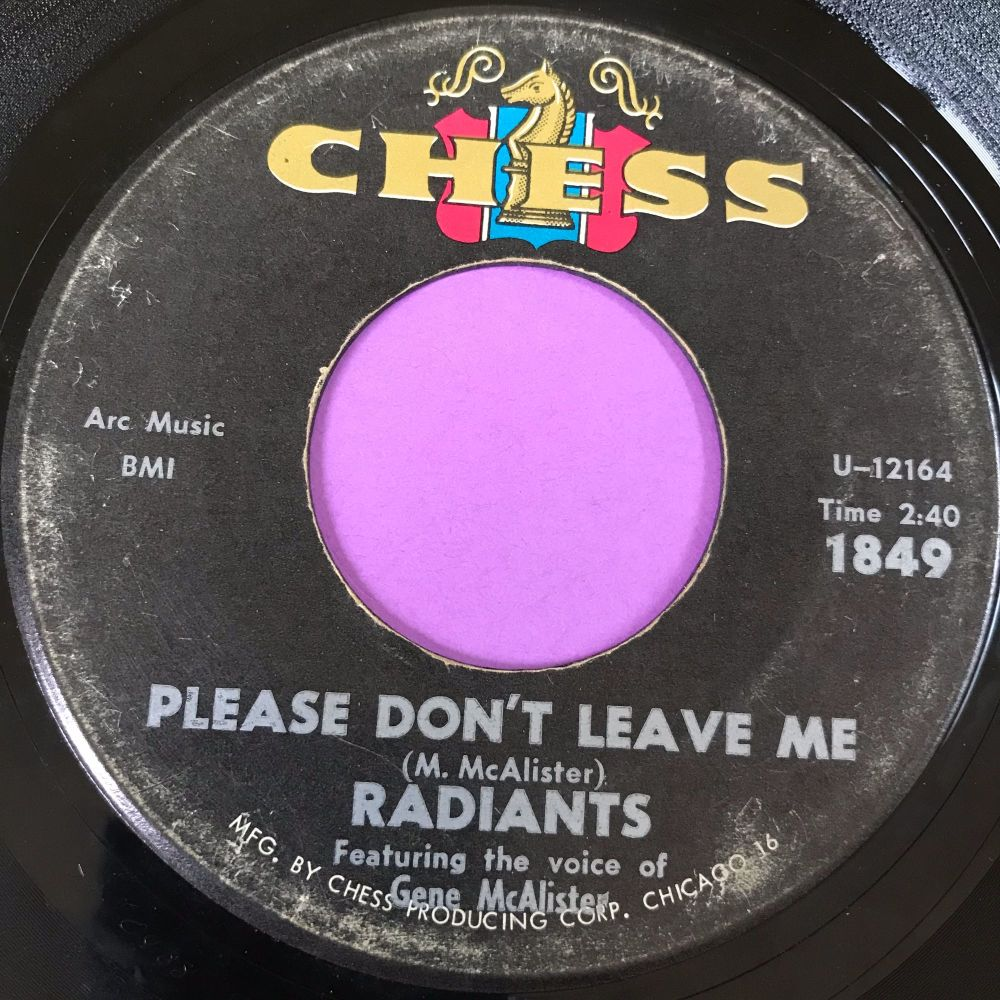 Radiants-Please don't leave me-Chess E-