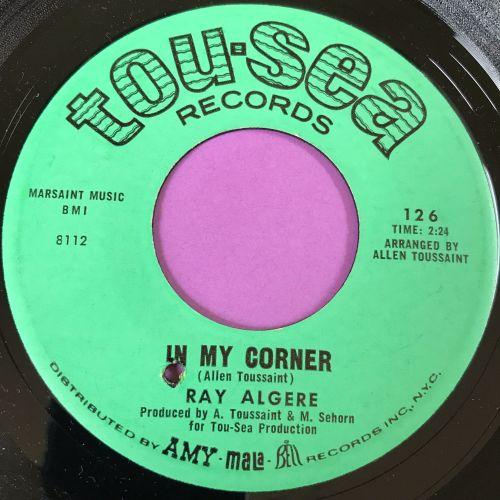 Ray Algere-In my corner-Tou-sea E+