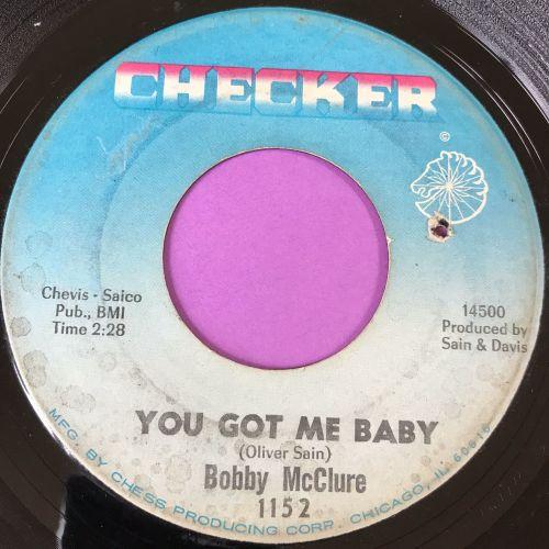 Bobby McClure-You got me baby-Checker E