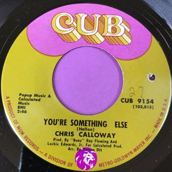 Chris Calloway-You're something else-Cub wol M-