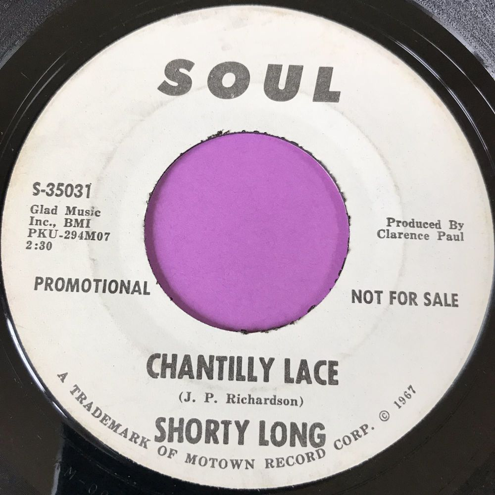 Shorty Long-Chantilly Lace-Soul WD E+