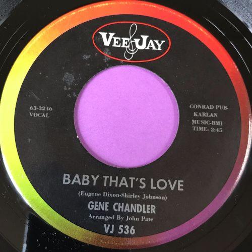 Gene Chandler-Baby that's love-VJ E+