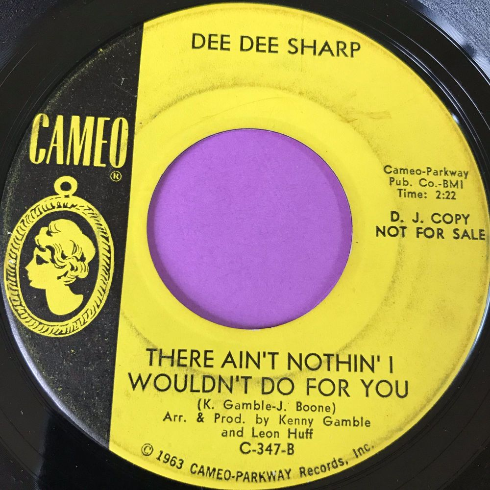 Dee Dee Sharp-There ain't nothin' I can do for you-Cameo Demo vg+