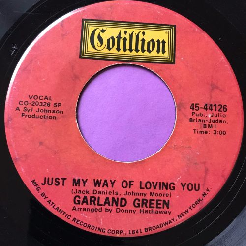 Garland Green-Just my way of loving you-Cotillion E
