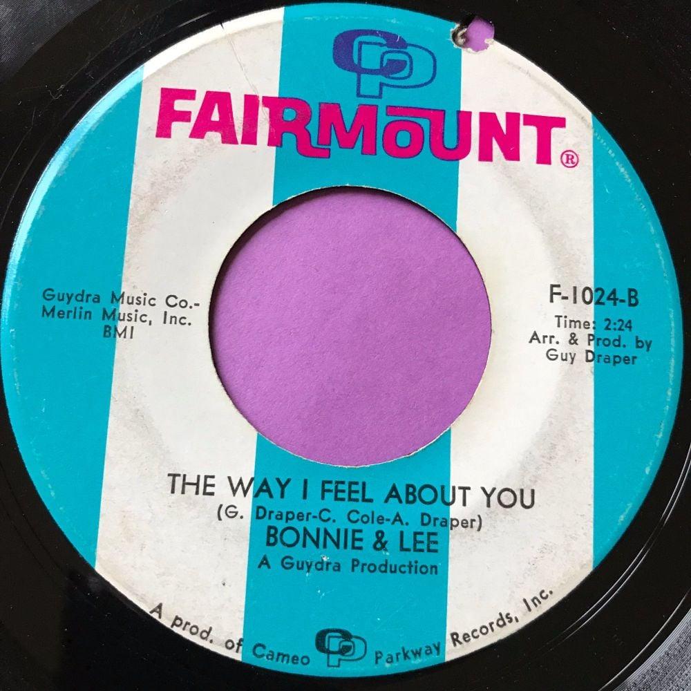 Bonnie & Lee-The way I feel about you-Fairmount E-