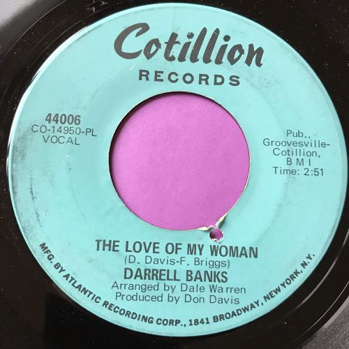 Darrell Banks-The love of a woman-Cotillion E+