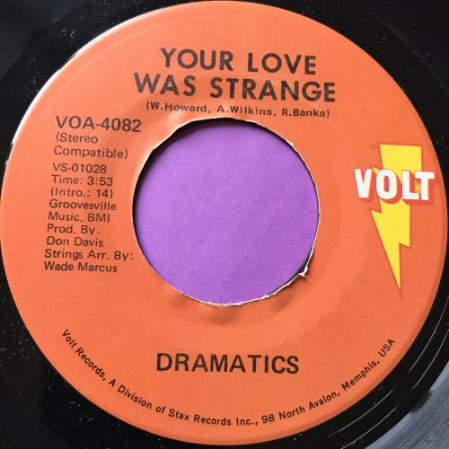 Dramatics-Your love was strange E+