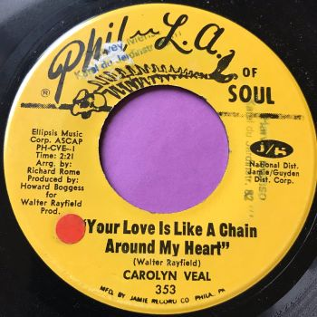 Carolyn Veal-Love is like a chain around my heart-Phila of soul wol E
