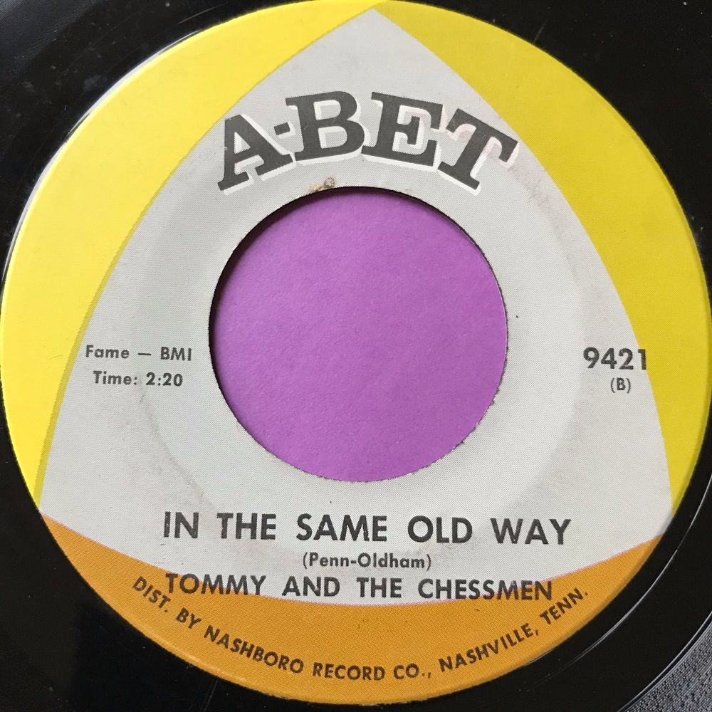 Tommy and the Chessmen-In the same old way-Abet E