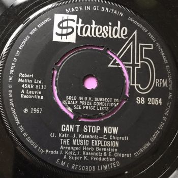 Music Explosion-Can't stop now-UK Stateside E