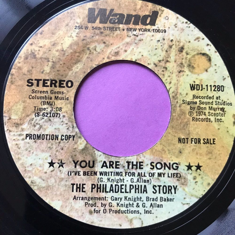 Philadelphia Story-You are the song-Wand E+