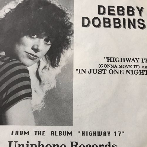 Debbie Dobbins-In just one night-Uniphone PS E+