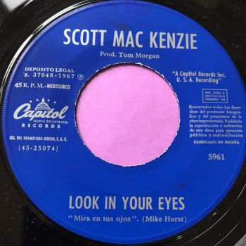 Scott MacKenzie-Look in your eyes-Spanish Capitol E+