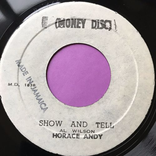 Horace Andy-Show and Tell-Money disc E+