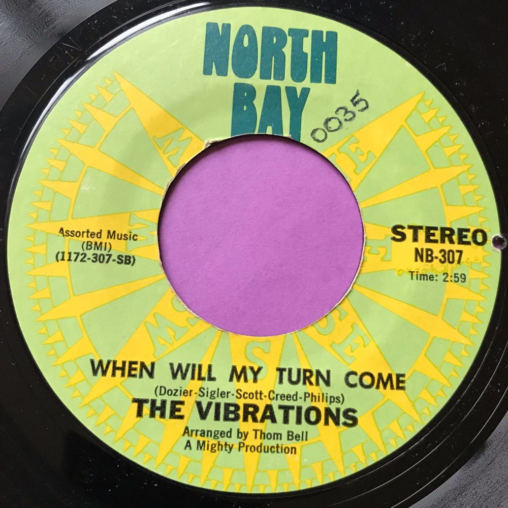 Vibrations-When will my turn come-North bay E+