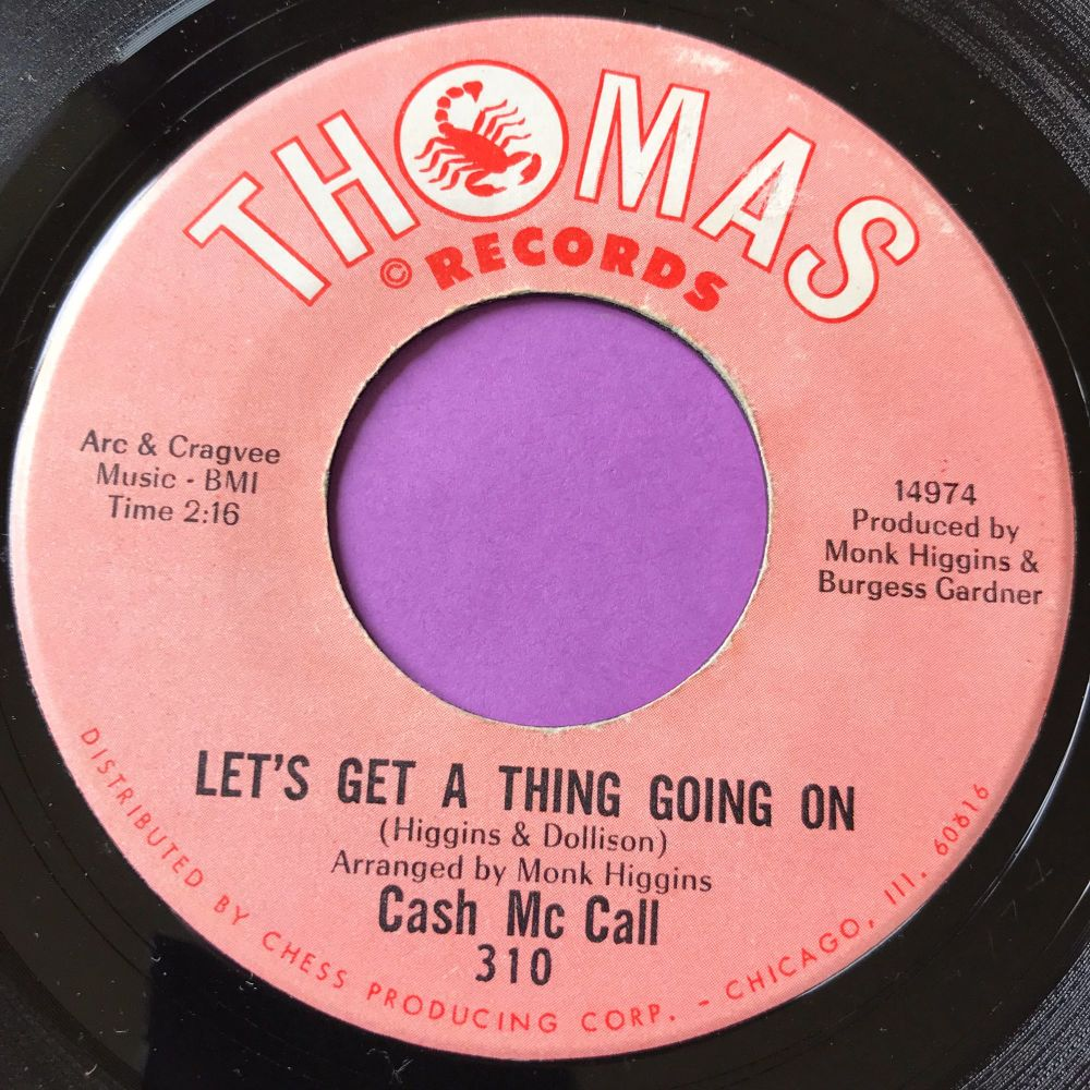 Cash McCall-Let's get a thing going on-Thomas E+