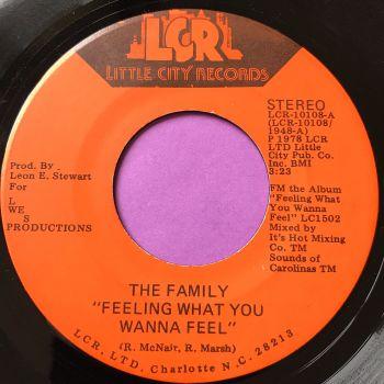 Family-Feeling what you wanna feel-Little City E+