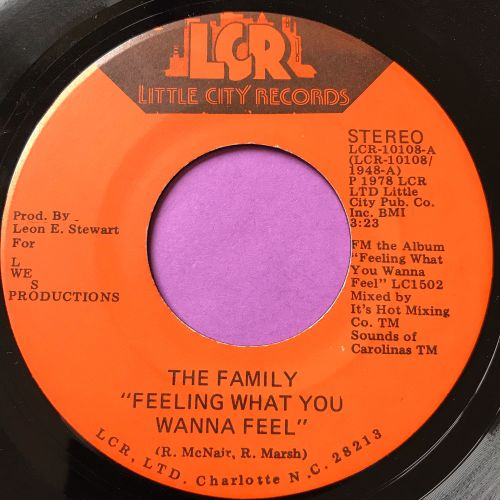 Family-Feeling what you wanna feel-Little City E+