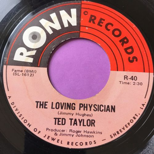 Ted Taylor-The loving physician-Ronn E