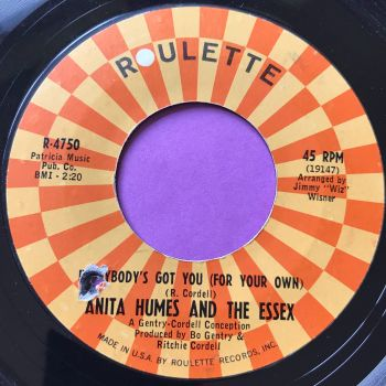 Anita Humes-Everybody's got you-Roulette E+