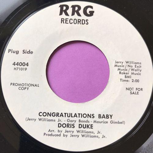 Doris Duke-Congratulations Baby-RRG WD E