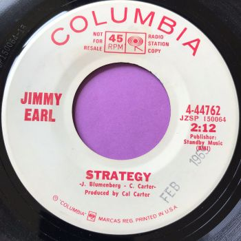 Jimmy Earl-Strategy-Columbia WD E+