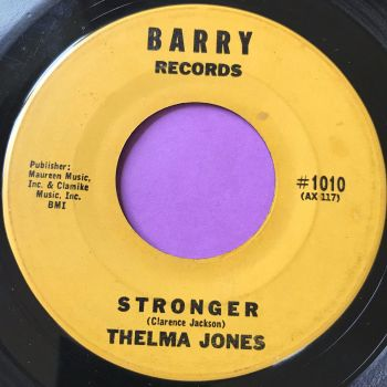 Thelma Jones-Stronger-Barry E